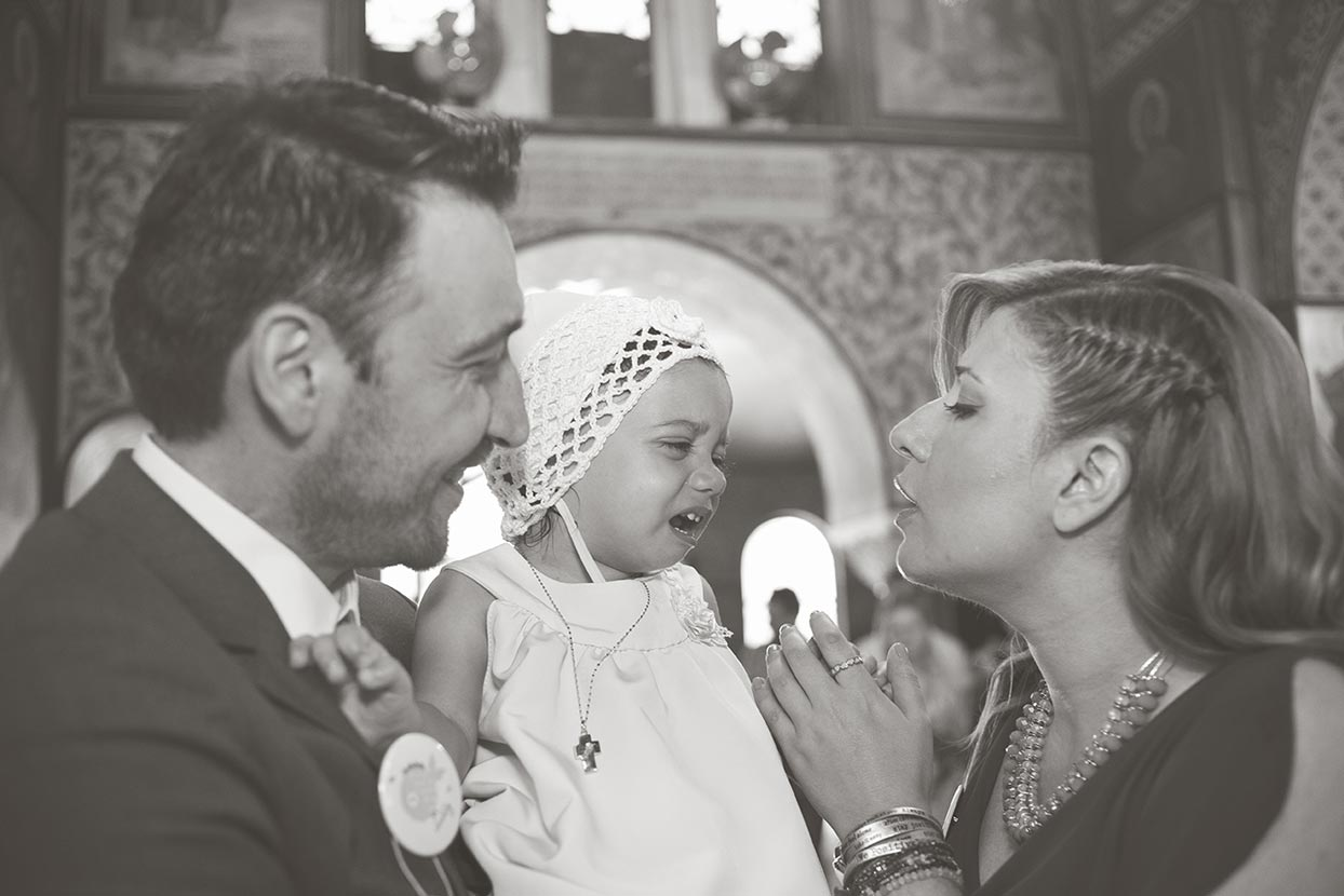 Fiorello Photography - Island Varkiza christening