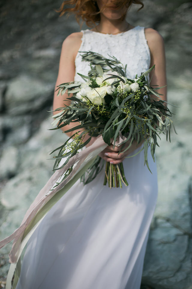 Wedding Editorial Photography in Cape Sounio by Fiorello Photography