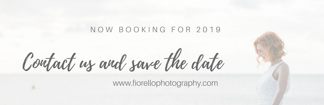 Now booking for 2019 wedding photography
