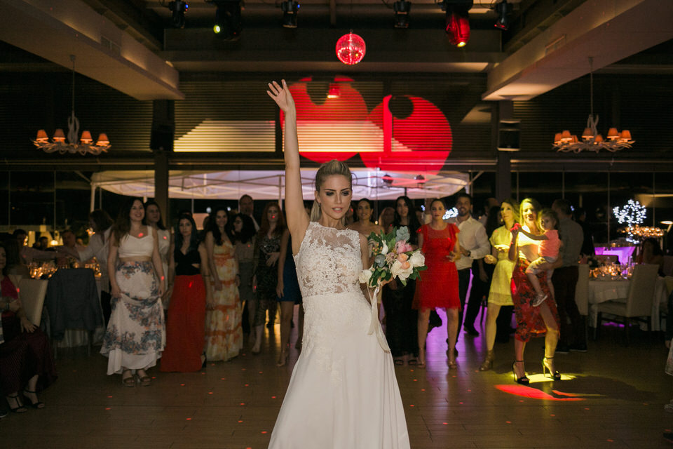 Beautiful Rainy Wedding in Athens by Fiorello Photography