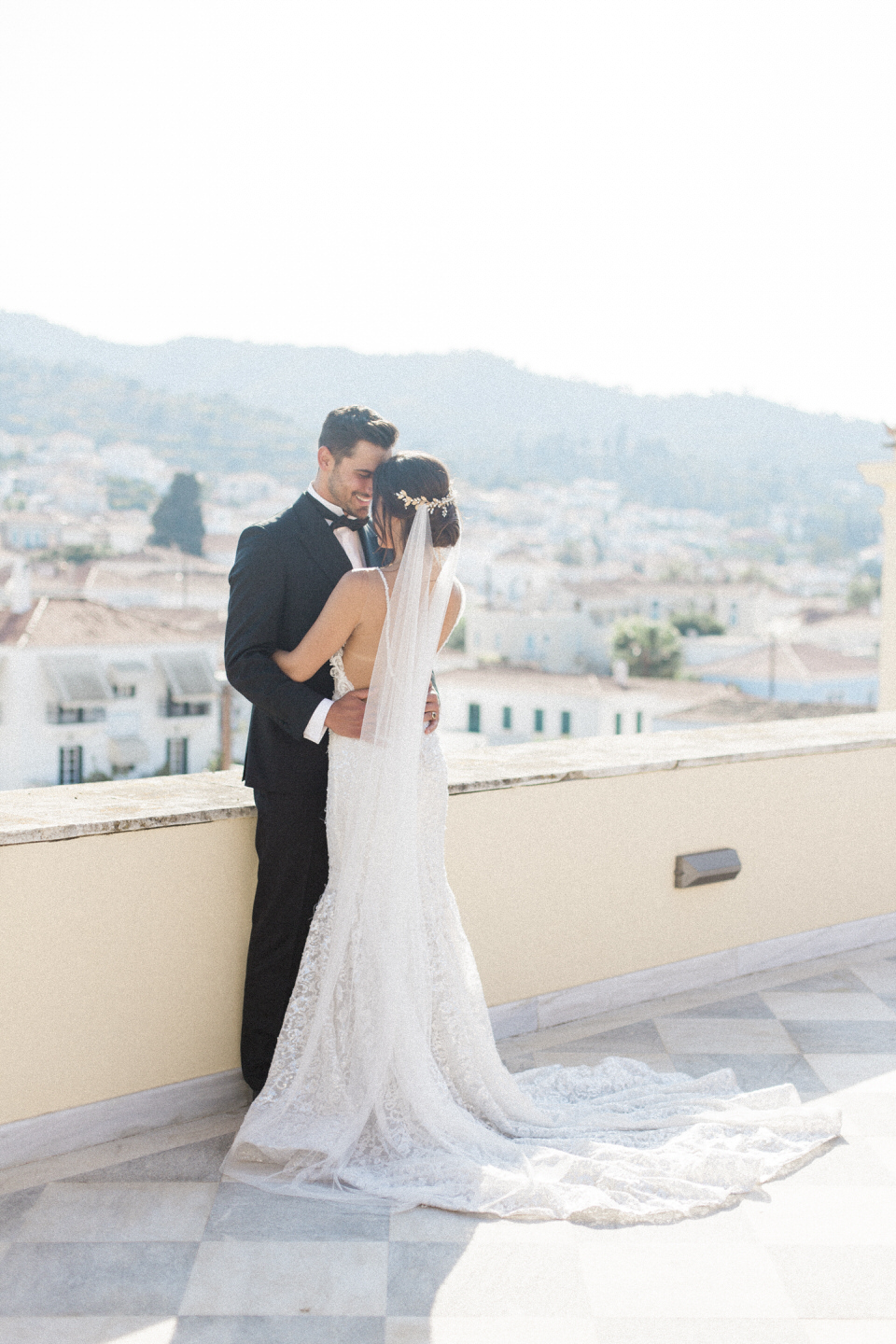 Chic Wedding at Poseidonion Grand Hotel in Spetses by Fiorello Photography