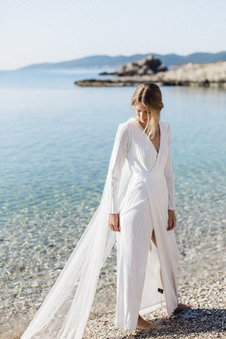 Seaside Wedding in Spetses by Fiorello Photography