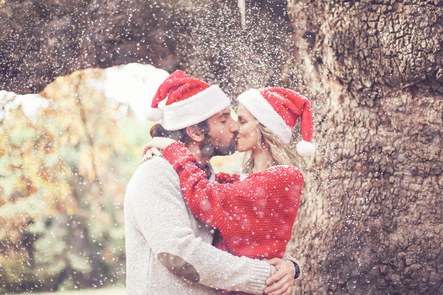 Christmas Couples Photography in Greece
