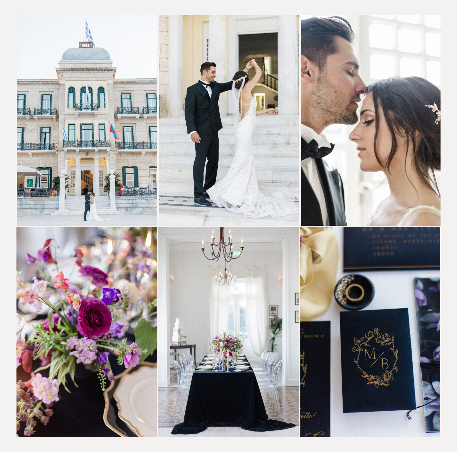 Spetses Chic Wedding Published at B.Loved
