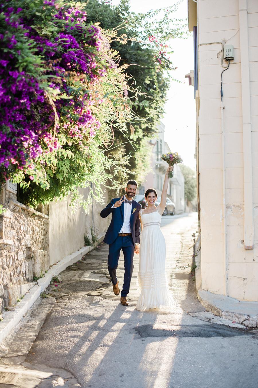 Mediterranean Destination Wedding in Greece