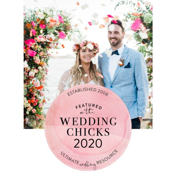 Fiorello Photography featured on Wedding Chicks