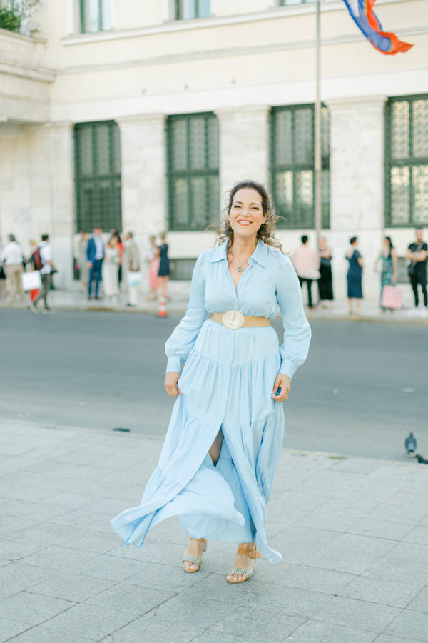 Intimate civil wedding in Athens by Fiorello Photography